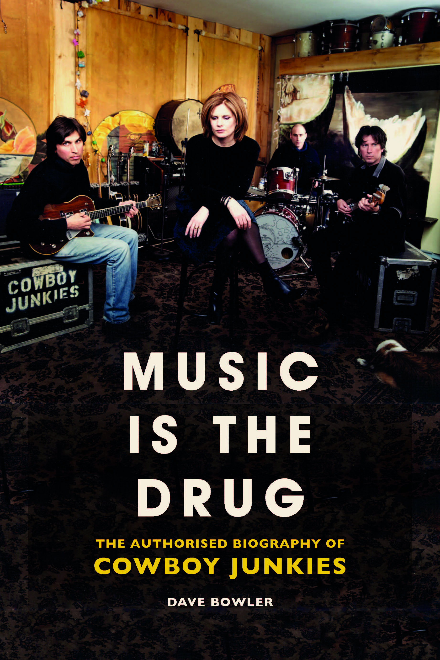 Music Is The Drug (the authorised biography)